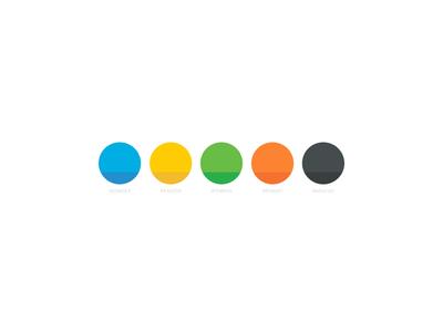 Colour Slide brand branding creations code hex palette colour
