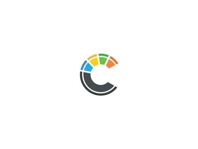 Code Creations Magnet Sticker minimal colour c creations code identity branding brand logo