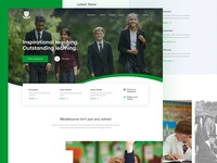 Westbourne School Homepage Concept