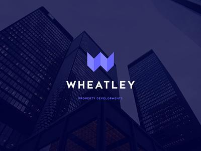 Wheatley Property Developments design illustrator illustration branding brand builder building house identity logo