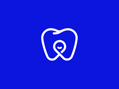 Tooth + Person + Smile agency connection person smile teeth tooth dental logo dental care dental illustration branding brand identity logo