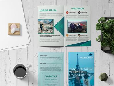 Bi Fold Travel Brochure