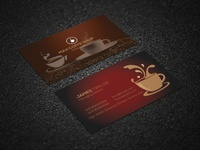 Business Card for Coffee shop