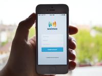 Walmoo app design - work in progress