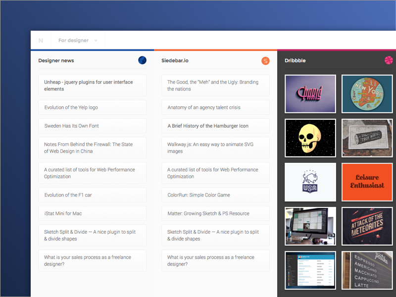 Simple rss feed reader rss app web opensource ui news user interface website riga latvia