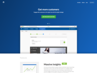 New reach.ly landing page