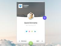 UI challenge - User profile #006