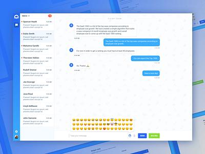 Medusa main UI! Sign up for beta! app webapp chat ui web ux chat ui
