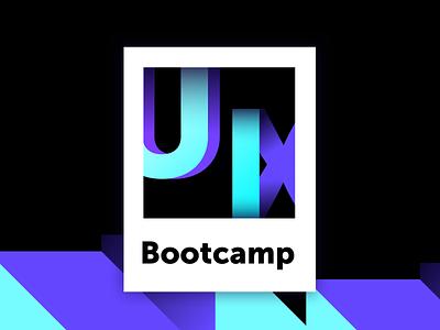 UI+UX Bootcamp Logo idenity bootcamp branding latvia riga uiuxdesign ui logo