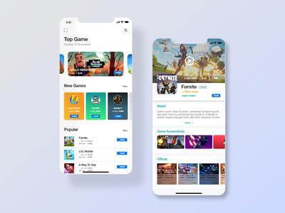 App Store UI