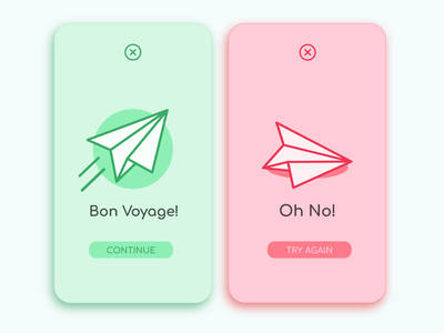 Daily UI 011: Flash Message ui dailyuichallenge flatdesign