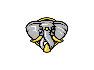 Elephant Door Knocker Logo