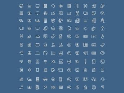 IT icon set