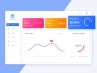 Data8 logo design illustration app like icons data web ui
