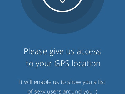 App permission screens ux ui permission ios