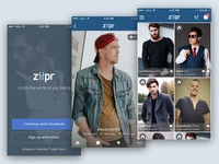 Ziipr - Mobile Dating App