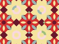Cuban tile pattern