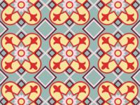 Cuban tile pattern v2
