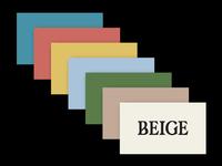 Beige Colours
