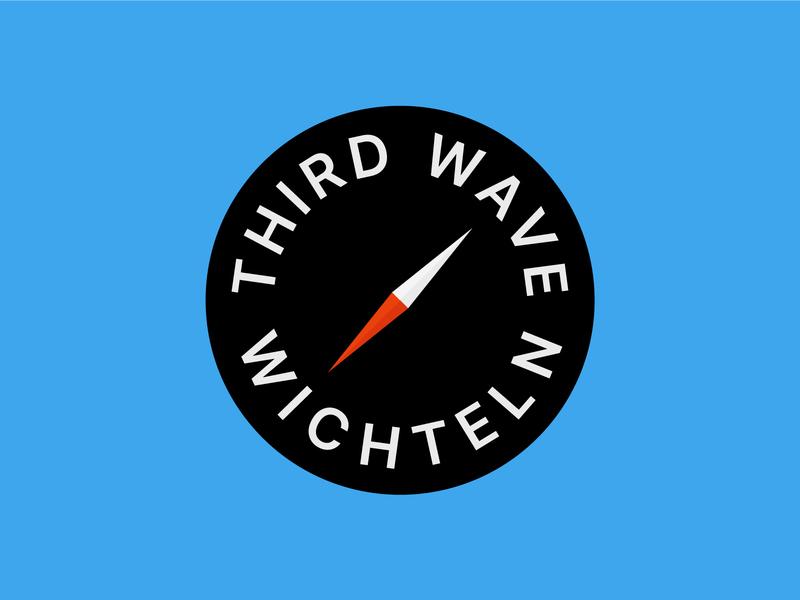 Third Wave Wichteln coffee third wave wichteln safari compass logo