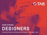 Now Hiring... Designers!