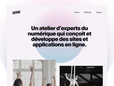 Douce douce landing redesign branding website ui sigmund quebec design