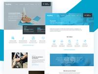 Foot Health Website Concept