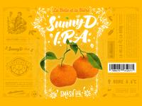 La Belle et la Bière - SunnyD IPA