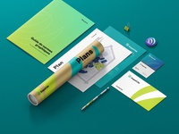 Paper and Stationery Mockup for ExpoCité