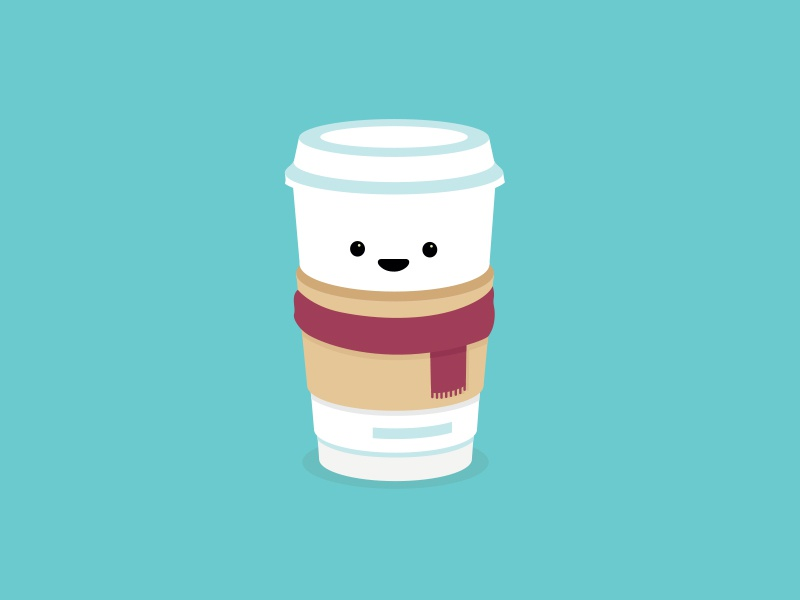 Coffee warm hot cold winter cup coffee