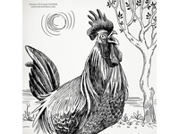 Inktober2018 Rooster