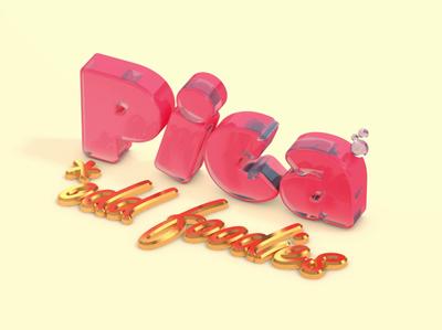 Pica 3D logo in Cinema 4D