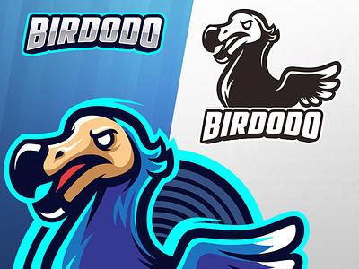 Dodo Bird Esport Logo bird illustration animal sport vector character mascot cartoon logo esport dodo