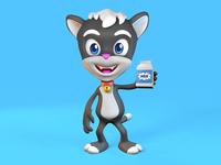 Neko 3D Character