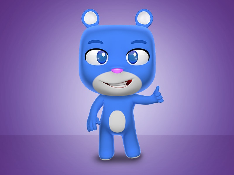 Cute Bear 3d graphicriver envato 3ddesigner cool 3ddesign cartoon character cinema4d render bear 3d