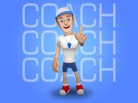 Coach Mascot