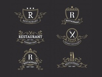 Restaurant Badges Collection