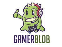 Gamer Monster Logo Template