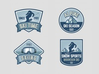 Ski Badges Collection
