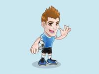 Soccer Mascot Character