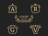 Vintage Luxury Logo Collection