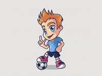 Soccer Player Kid