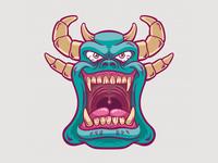 Green Demon Monster