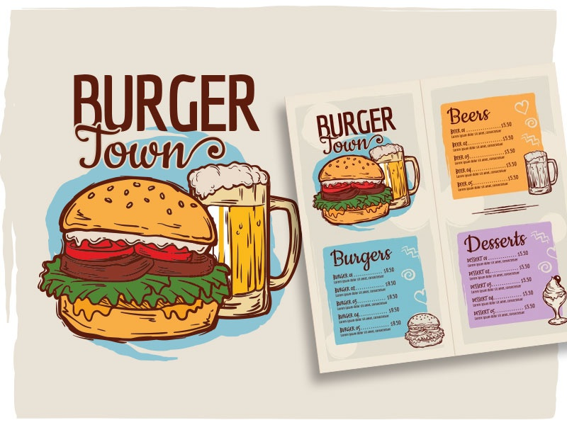 burger menu template by horacio velozo dribbble dribbble