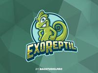 Reptile Logo Mascot