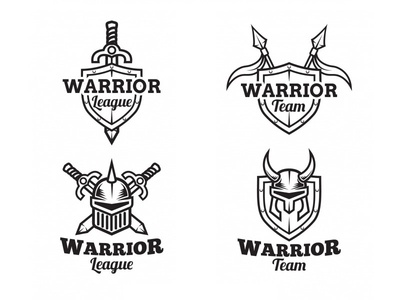 Warrior Logo Collection 01