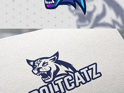 Wildcat Logo Template graphicriver envato esport logo vector illustration team wildcat league sport wild logo esport panther