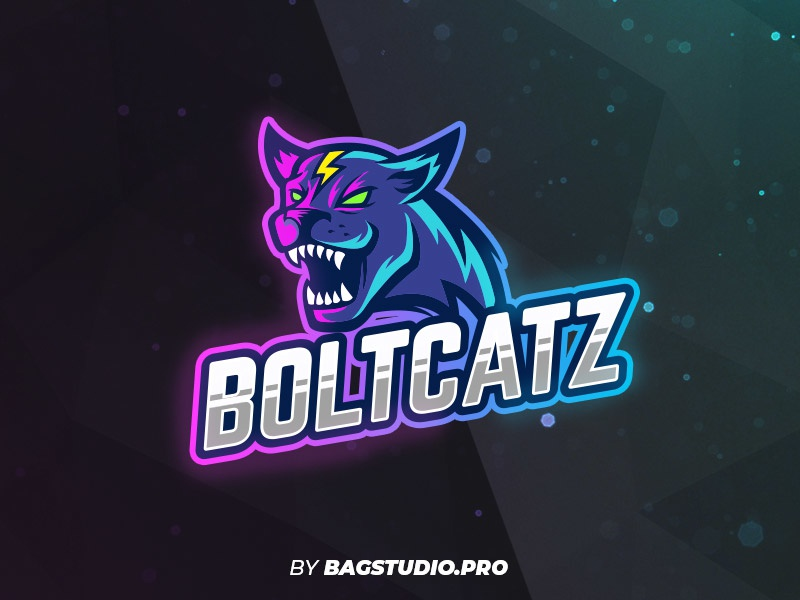 wildcat logo template by horacio velozo dribbble dribbble