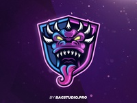 Purple Monster Logo