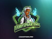 DannyPhantom Mascot Gamer Logo
